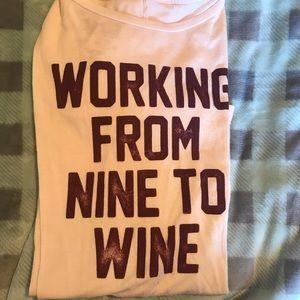 9-Wine shirt